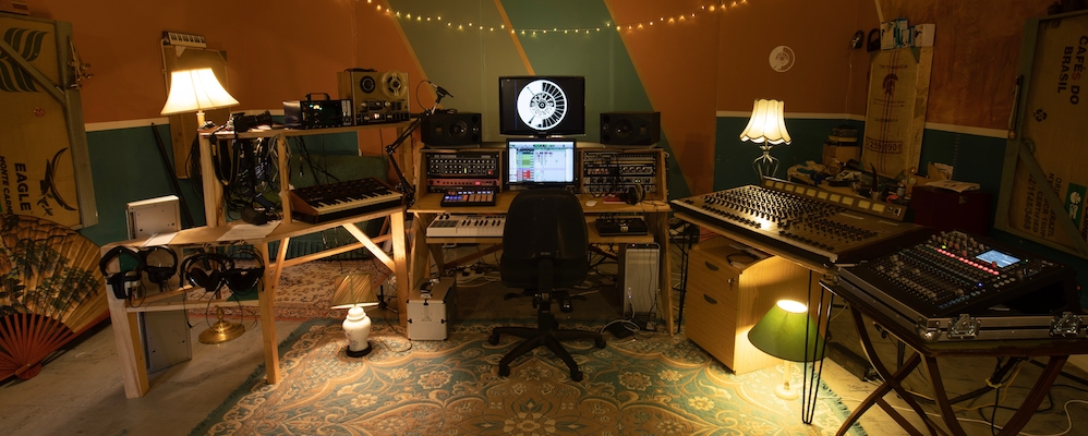 Upcycled Sounds Control Room – photo credit Fyrefly Studios